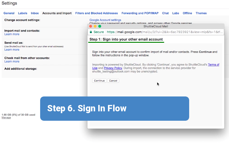 Step 6. Sign In Flow.1